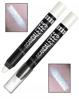 Rimmel Scandaleyes Chubby Chunky Eyeshadow Stick crayon pencil WITNESS WHITE