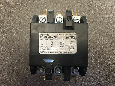 Furnas Contactor NEW 3 Phase  Cat# 42GE35AF106