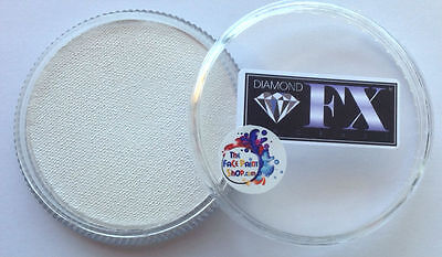 Diamond FX Professional Face and Body Paint Essential White 32g