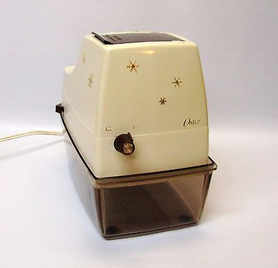 Retro Oster Snowflake 571-06B Electric Ice Crusher With Fine and Coarse Settings