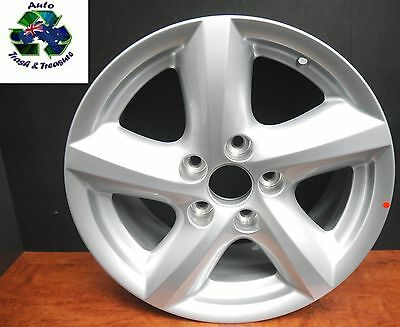 ALLOY WHEEL SET OF (4) 16 x 7 WHEELS FORD BA 2002-2009 NEW GENUINE FORD
