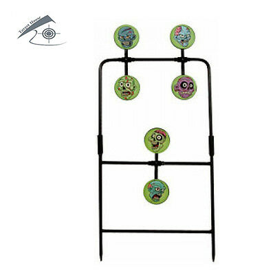 Zombie Airgun Spinner Target include 72 Zombie Stickers(6 different images)