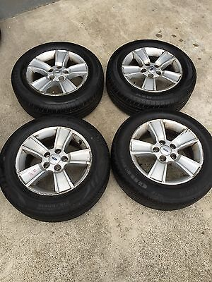 For Sale: 4 X Ford Ba/bf Ford Mag Wheels With Good  215/60/r16 Tyres!