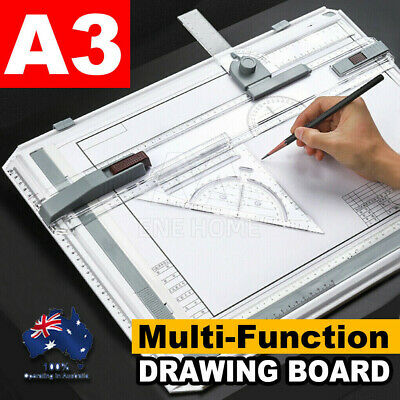 A3 Drawing Board Table with Parallel Motion and Adjustable Angle Drafting