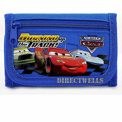 Disney Car Blue Wallet