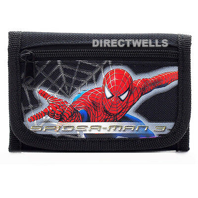 Spiderman Black Wallet