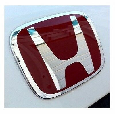 1xJDM Red H Rear/Trunk Emblem Badge For HONDA ACCORD 2008-2015 COUPE 2Door EX LX