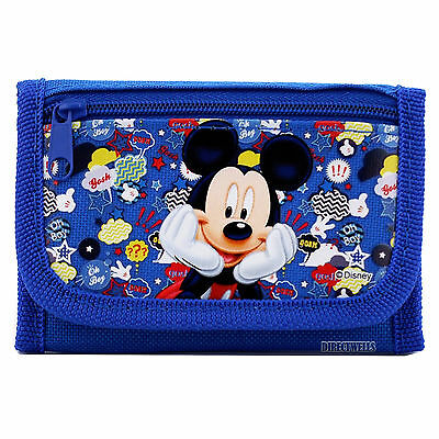 Mickey Mouse Blue Wallet
