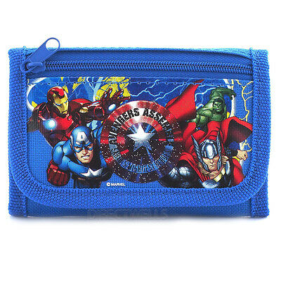 Marvel Avengers Blue Wallet