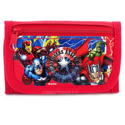 Marvel Avengers Red Wallet