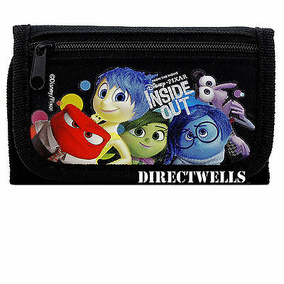 Disney Inside Out Black Wallet
