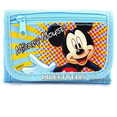 Disney Mickey Mouse Light Blue Wallet