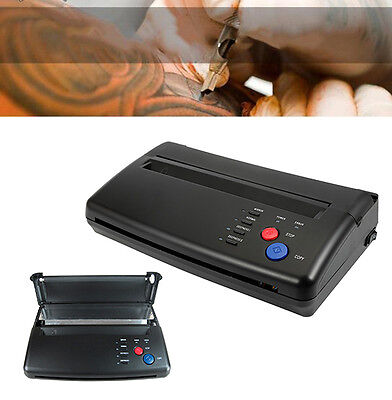Tattoo Stencil Transfer Flash Copier SPIRIT Thermal Hectograph Printer Machine