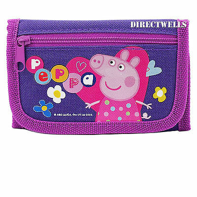 Peppa Pig Purple Wallet