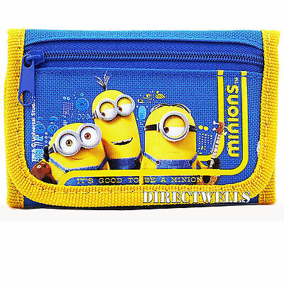 Minions Despicable Me Blue Wallet