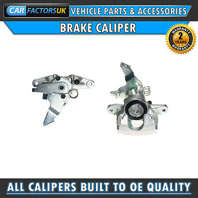 PAIR OF REAR BRAKE CALIPERS To Fit VAUXHALL MOVANO (CAR2106R)
