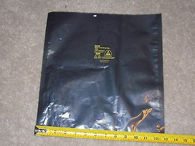 "LOT of 5 14"" X 13"" Motherboard MB Anti Static Bag ESD Metal"