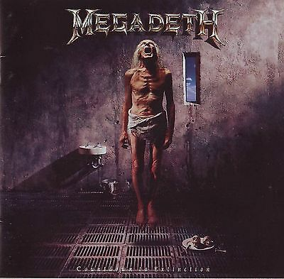MEGADETH - Countdown To Extinction Album Cover Art Print Poster 12 x 12