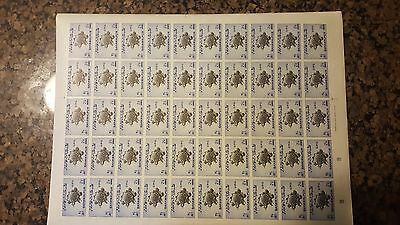 Bahawalpur 1949 UPU set of 4 in complete imperf sheets of 50 - possibly unique.