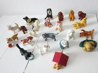 Vintage MEG TOPPS Animal Hospital animals in my pocket PETS dogs cats LOT