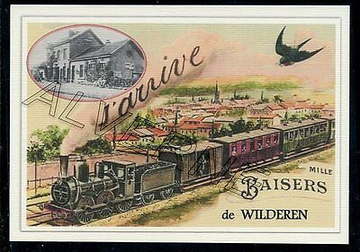 WILDEREN  -- ....  TRAIN  ...  souvenir creation moderne serie numerotee