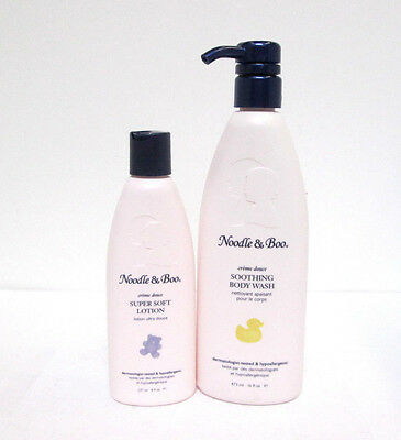 Noodle & Boo Soothing Body Wash & Super Soft Lotion Set [MB-A-N]