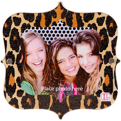 Magnetic Picture Frame - Leopard