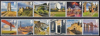 Great Britain 2011 UK A to Z 1st Series Stamp Set (GB3230)
