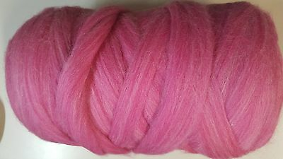 Wool Sliver #928 Wineberry Mix - Ready to Spin or Felt 50g