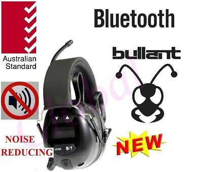 Bullant ABA940 Earmuff Headset AM FM Radio Bluetooth Headphones head set jobsite