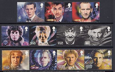 Great Britain 2013 Doctor Who Stamp Set (GB3437)