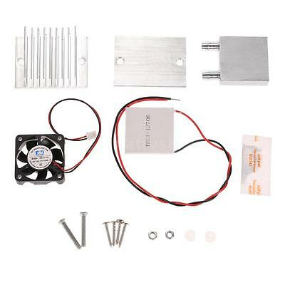 DIY Kit Thermoelectric Cooler Peltier Cooling Module + Fan +TEC1-12706 New V7T6