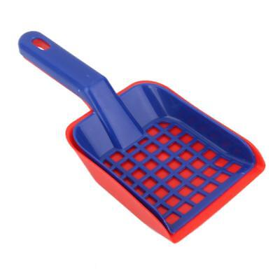 1 Set Plastic Cat Pet Animal Litter Tray Poop Sieve & Scoop Scooper Shovel