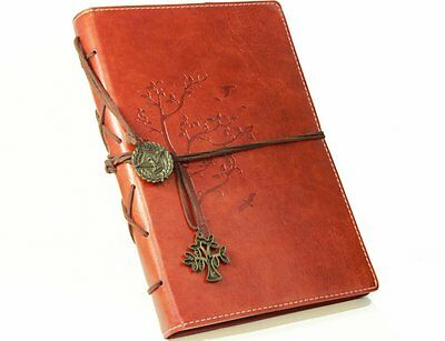 Valery Premium Refillable PU Leather Notebook Retro Vintage Diary Journal for
