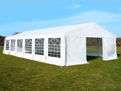 Great White Marquee 6m x 12m Heavy Duty PVC Wedding Party Tent Event Gazebo NEW