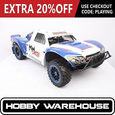 King Motor X2 Blue 30.5cc 1/5 Scale 4WD RC Truck