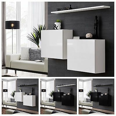 Modern Chest Drawers Cabinet Sideboard Cupboard High Gloss SWITCH I Free P&P