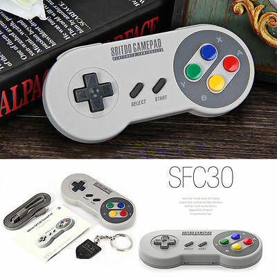 8BITDO SFC30 Bluetooth Wireless GamePad Game Controller For iOS Android Windows