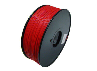 RC HobbyKing 3D Printer Filament 1.75mm HIPS 1.0KG Spool (Solid Red)