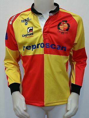 Maglia Shirt Rugby Bergamo 1950 Reproscan Tg.m Jersey Camiseta Italy Maillot R2