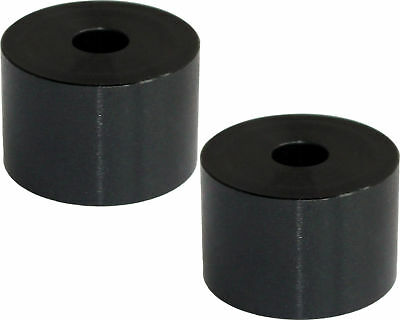 Pair of Black Aluminium Kart Seat Spacers / Washers 20mm x 30mm x 8.5mm Hole