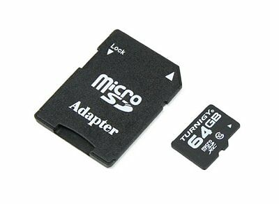 RC Turnigy 64GB Class 10 Micro SD Memory Card (1pc)