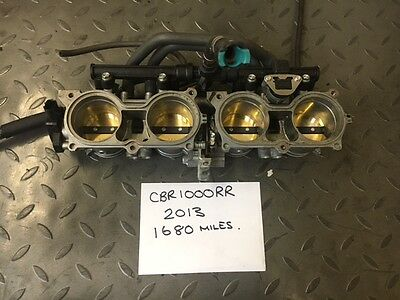 Honda Cbr1000Rr 2013 Throttle Bodies 1800 Miles Only