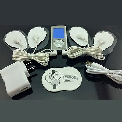 Electronic Pulse Digital TENS Acupuncture Full Body Massager Therapy Machine NEW