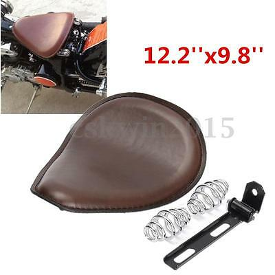 Moto Selle Siège Support Couverture Pour  Harley Bobber Chopper 12.2''x9.8''