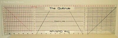 "QUILTERS RULE ""THE QUILT RULE"" 24 Inch; Imperial & Metric. Scrapbooking."