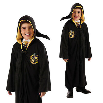 Rubies Official Licensed Childs Harry Potter Hufflepuff Robe Fancy Dress Costume