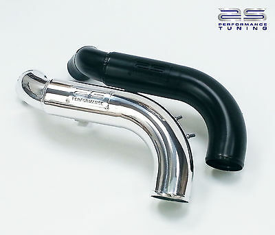 Airtec Pro Series Black Alloy Top Induction Pipe for Ford Focus MK2 ST 225