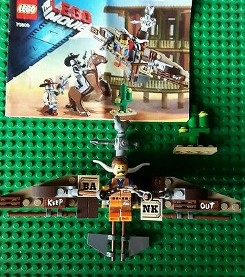 Lego Getaway Glider And Emmet Set 70800 The Lego Movie  Inc Instructions