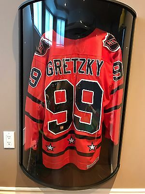 Wayne Gretzky Edmonton Oilers Campbell All Star Autographed Jersey With Coa